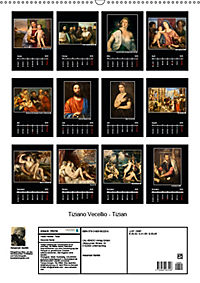 Tiziano Vecellio - Tizian (Wandkalender 2019 DIN A2 hoch) - Produktdetailbild 13