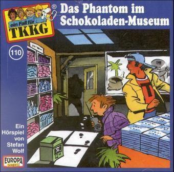 TKKG Band 110: Das Phantom im Schokoladen-Museum (1 Audio-CD), Stefan Wolf
