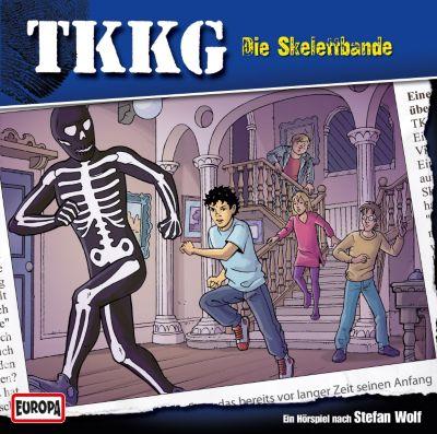 TKKG Band 112: Die Skelettbande (1 Audio-CD), Stefan Wolf