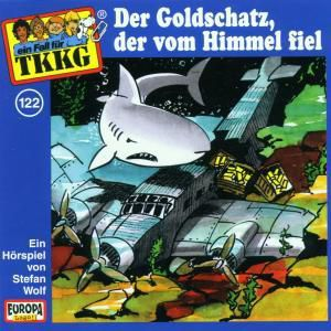 TKKG Band 122: Der Goldschatz, der vom Himmel fiel (1 Audio-CD), Stefan Wolf