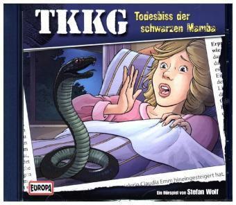 TKKG Band 141: Todesbiss der schwarzen Mamba (1 Audio-CD), Stefan Wolf