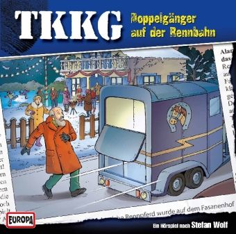TKKG Band 174: Doppelgänger auf der Rennbahn (1 Audio-CD), Stefan Wolf