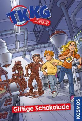 TKKG Junior: TKKG Junior, 3, Giftige Schokolade, Kirsten Vogel