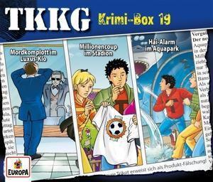 TKKG - Krimi-Box 19 (3 CDs, Folgen 123, 168, 178), Stefan Wolf
