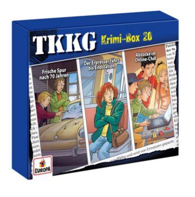 TKKG Krimi-Box 20 (Folgen, 119, 129, 179) (3 CDs), Stefan Wolf