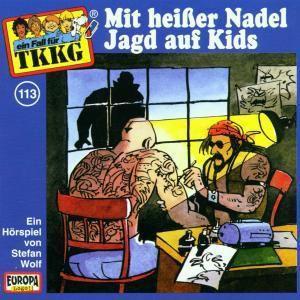 TKKG - Mit heißer Nadel Jagd auf Kids, Stefan Wolf