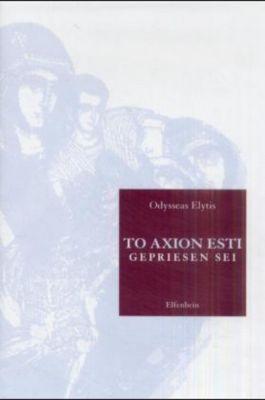 To Axion Esti - Odysseas Elytis pdf epub