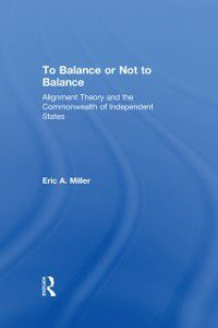 To Balance or Not to Balance, Eric A. Miller