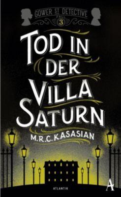 Tod in der Villa Saturn, M. R. C. Kasasian