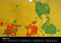 Toddler Art Abstract expressions (Wall Calendar 2019 DIN A4 Landscape) - Produktdetailbild 3