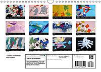 Toddler Art Abstract expressions (Wall Calendar 2019 DIN A4 Landscape) - Produktdetailbild 13