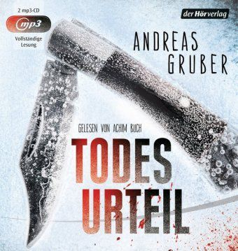 Todesurteil, 2 MP3-CDs, Andreas Gruber