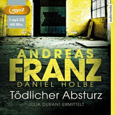 Tödlicher Absturz, MP3-CD, Andreas Franz, Daniel Holbe