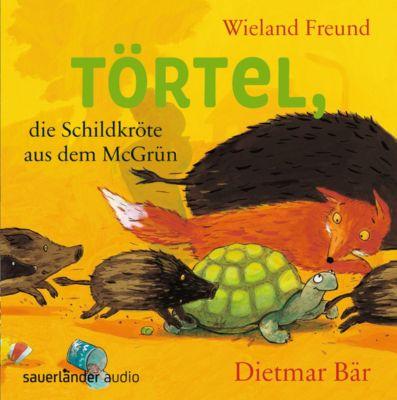 Törtel, die Schildkröte aus dem McGrün, 2 Audio-CDs, Wieland Freund