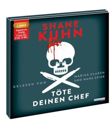 Töte deinen Chef, 2 MP3-CDs, Shane Kuhn