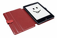tolino epos, Schutztasche in Lederoptik mit easy click  (Farbe: rot) - Produktdetailbild 2
