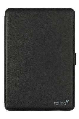 tolino epos, Schutztasche in Lederoptik mit easy click  (Farbe: schwarz)