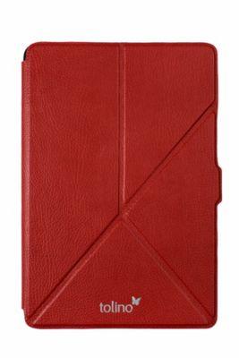 tolino epos, Schutztasche mit Origami Standfunktion (Farbe: rot)