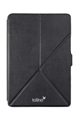 tolino epos, Schutztasche mit Origami Standfunktion (Farbe: schwarz)