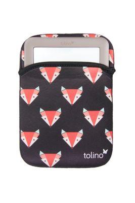 tolino eReader, Neoprentasche Fuchs (Farbe: schwarz)