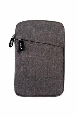 tolino eReader, Stofftasche mit Frontfach (Farbe: grau)