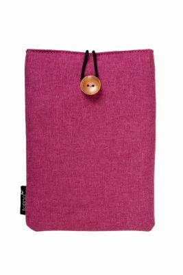 tolino eReader, Stofftasche mit Innenfutter (Farbe: sangria)