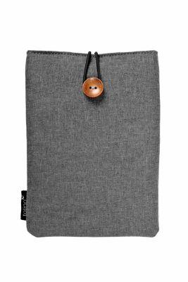 tolino eReader, Stofftasche mit Innenfutter (Farbe: grau)