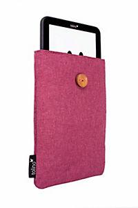 tolino eReader, Stofftasche mit Innenfutter (Farbe: sangria) - Produktdetailbild 2