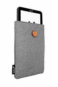 tolino eReader, Stofftasche mit Innenfutter (Farbe: grau) - Produktdetailbild 2