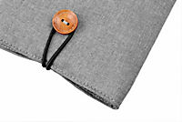 tolino eReader, Stofftasche mit Innenfutter (Farbe: grau) - Produktdetailbild 3