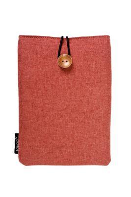 tolino eReader, Stofftasche mit Innenfutter (Farbe: rot)
