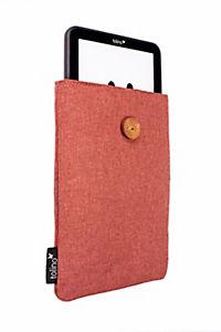 tolino eReader, Stofftasche mit Innenfutter (Farbe: rot) - Produktdetailbild 2