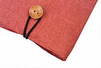 tolino eReader, Stofftasche mit Innenfutter (Farbe: rot) - Produktdetailbild 3