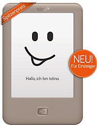 """tolino page eBook-Reader + eBook """"Die Stille vor dem Tod"""" / McFadyen - Produktdetailbild 1"""