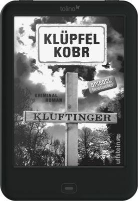 tolino shine 2 HD eBook-Reader + eBook Kluftinger / Klüpfel Kobr