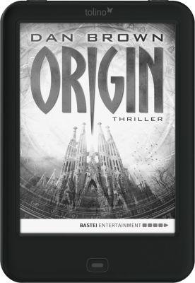 tolino shine 2 HD eBook-Reader + eBook Origin / Dan Brown