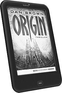 "tolino shine 2 HD eBook-Reader + eBook ""Origin"" / Dan Brown - Produktdetailbild 1"