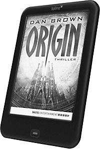 "tolino shine 2 HD eBook-Reader + eBook ""Origin"" / Dan Brown - Produktdetailbild 2"