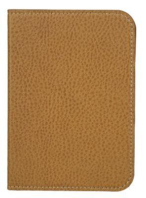 tolino shine 2 HD, Schutztasche in Lederoptik (Farbe:braun)