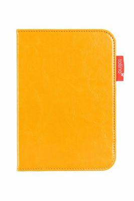 tolino shine 2 HD, Schutztasche in Lederoptik (Farbe:gelb)