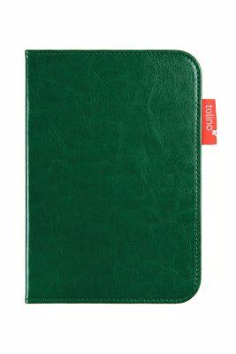 tolino shine 2 HD, Schutztasche in Lederoptik (Farbe:grün)
