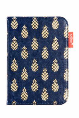 tolino shine 2 HD, Schutztasche in Lederoptik (Farbe:fancy blau)