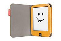 tolino shine 2 HD, Schutztasche in Lederoptik (Farbe:gelb) - Produktdetailbild 1