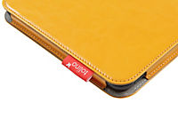 tolino shine 2 HD, Schutztasche in Lederoptik (Farbe:gelb) - Produktdetailbild 3