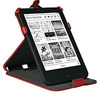 tolino shine 2 HD, Schutztasche mit Standfunktion (Farbe:rot) - Produktdetailbild 2