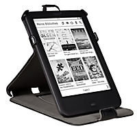 tolino shine 2 HD, Schutztasche mit Standfunktion (Farbe:schwarz) - Produktdetailbild 2