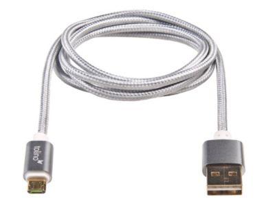 tolino, USB Kabel silber (beidseitig nutzbar)