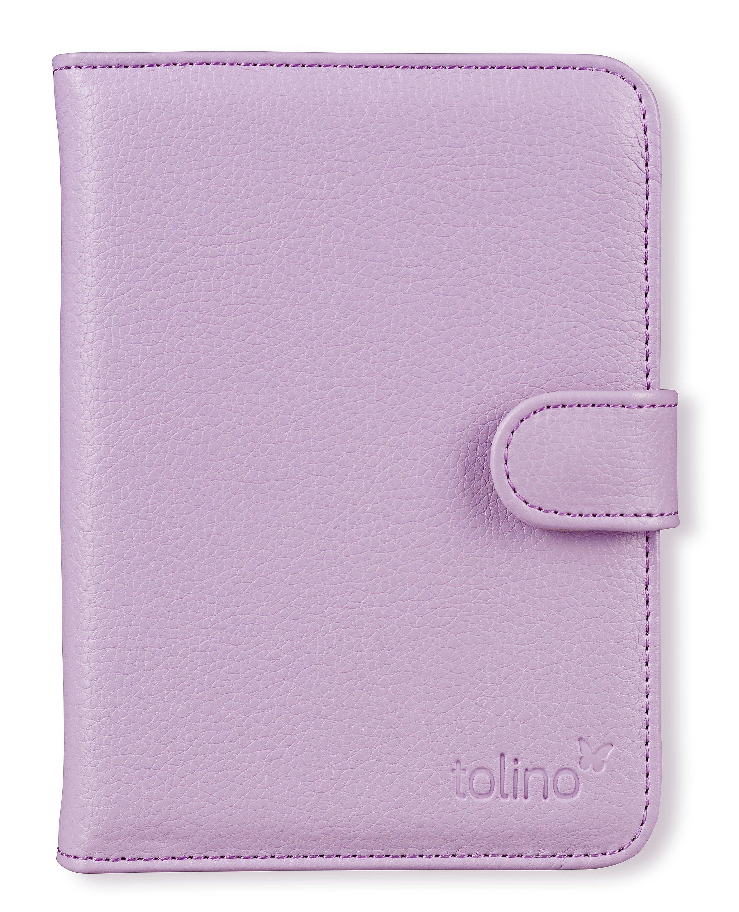 Tolino Vision 2 Schutztasche In Lederoptik Farbe Flieder Weltbild Ch