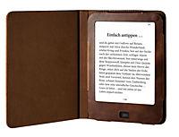 tolino vision, Schutztasche in Echtleder (Farbe: vintage braun) - Produktdetailbild 1