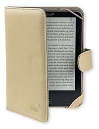 tolino vision, Schutztasche in Lederoptik (Farbe: creme) - Produktdetailbild 5